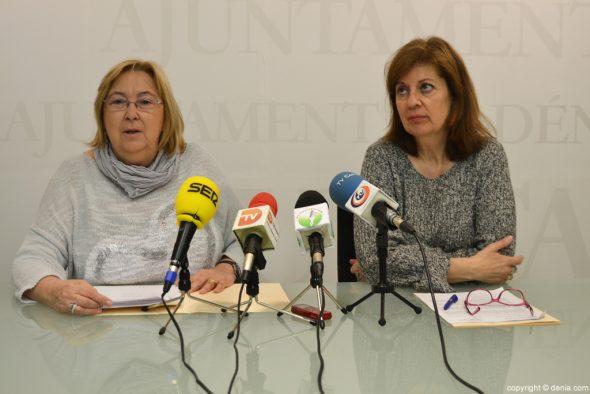Elisabet Cardona y Susana García
