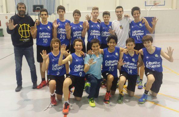 Equipo Infantil Masculino del Dénia Básquet