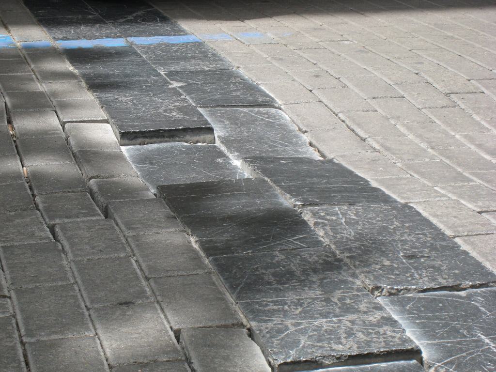 The City Council will fix the uneven sections of the road