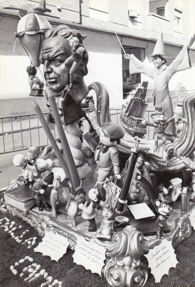 Falla infantil Campaments 1994