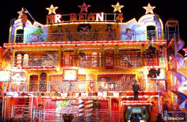 Feria de atracciones Dénia