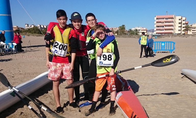 Young palmists of the RCN Denia