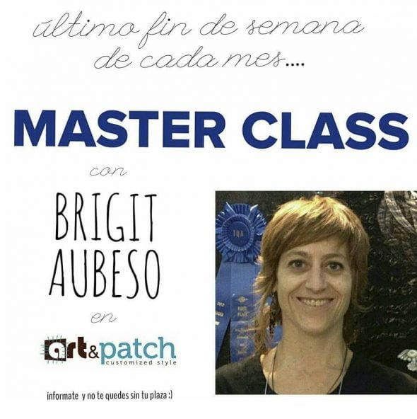 Master Class con Brigit Aubeso en Art & Patch