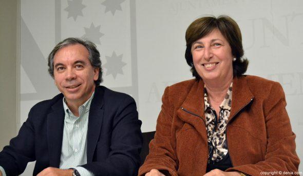 Miguel Llobell y Pepa Font