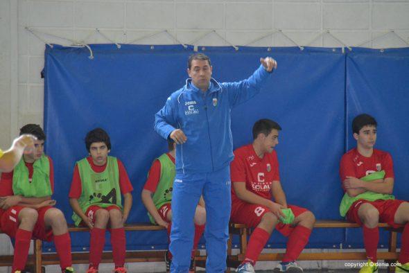 Paco Pastor entrenador del Paidos Cadete