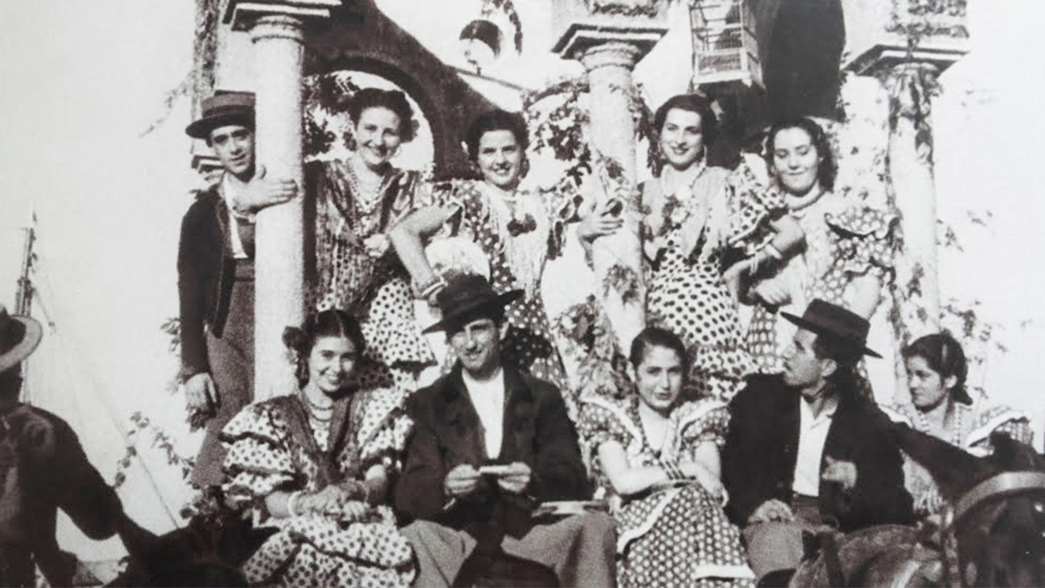 Primera carroza de la falla Centro – año 1949