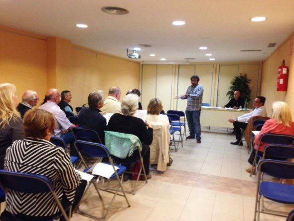 First Meeting of the Municipal Council of Residents