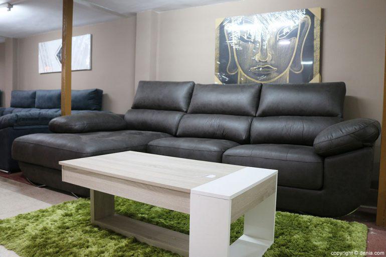 Sofá marrón Muebles Mencor