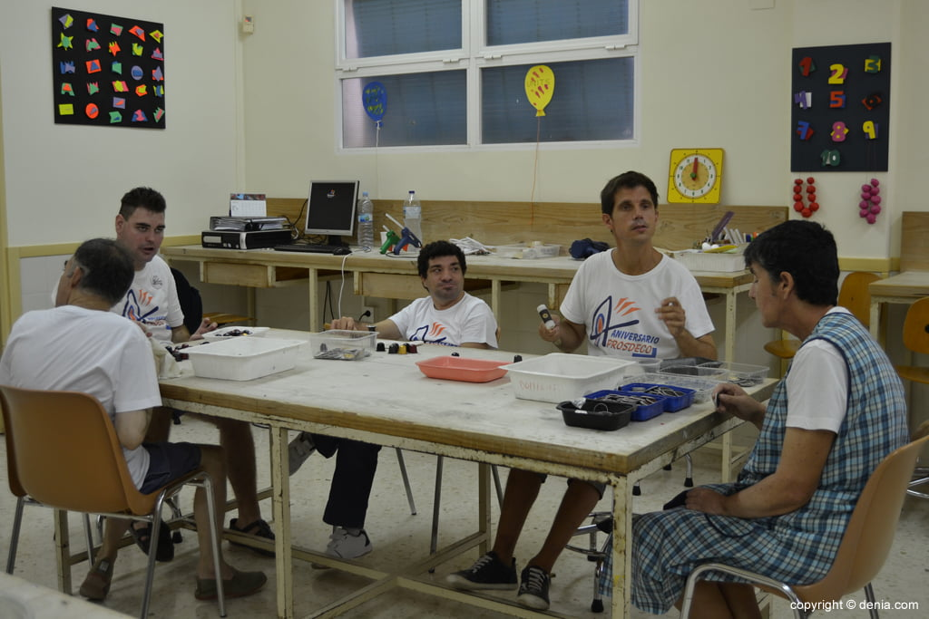 Usuarios del Centro Ocupacional de la Xara