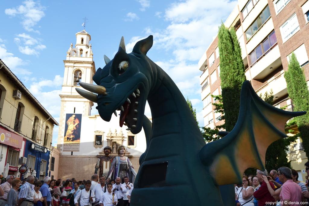 Danses Corpus Dénia 2016 - The Dragon and Tirant i Carmesina