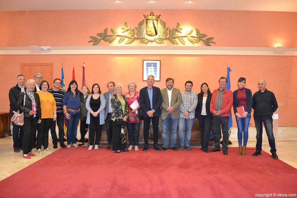 Día de Europa 2016 en Dénia - participantes