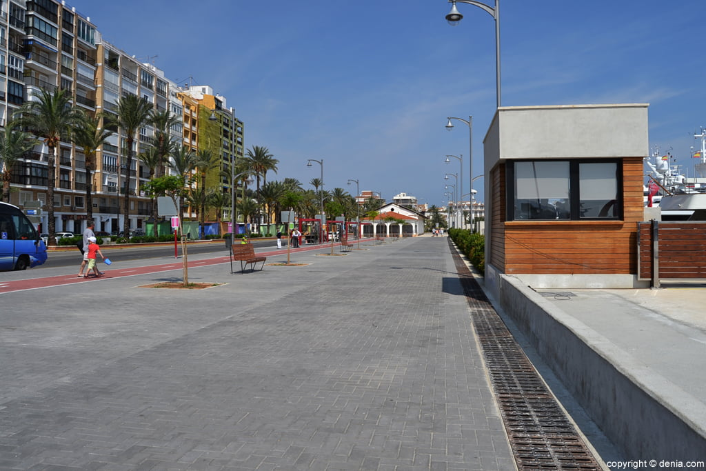 Port Denia - Muelle de Ribera