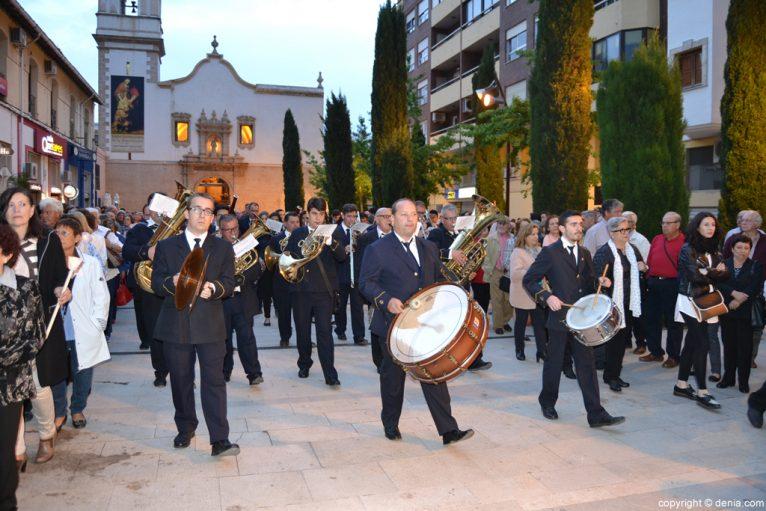 Procesión de la Mare de Déu dels Desemparats - Agrupació Artística Musical de Dénia
