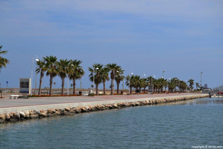 Puerto de Dénia - Paseo marítimo