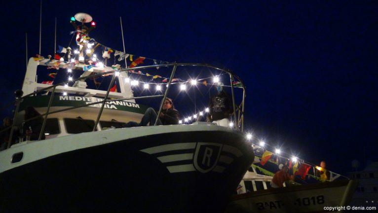 Procesión de la Mare de Déu dels Desemparats - barcos decorados