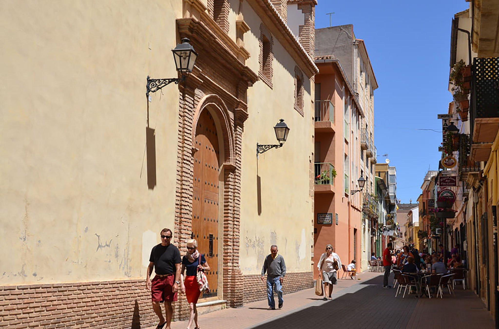 Altar of the Church of Loreto