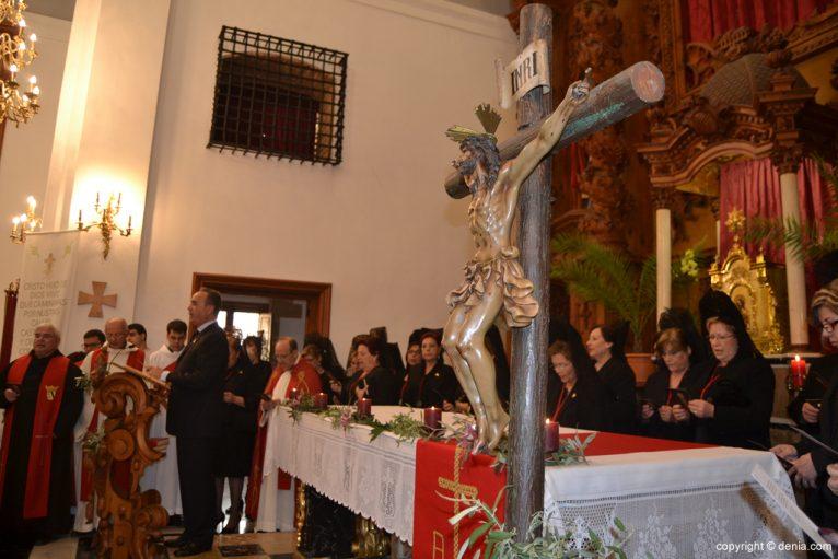 Altar mayor de la Iglesia de Loreto
