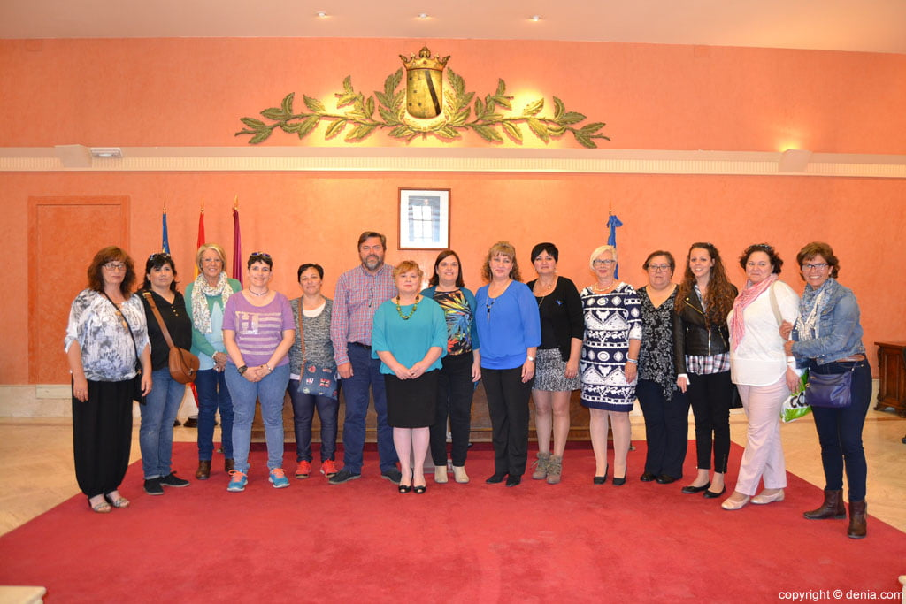Celebration of the International Day of Fibromyalgia in Denia