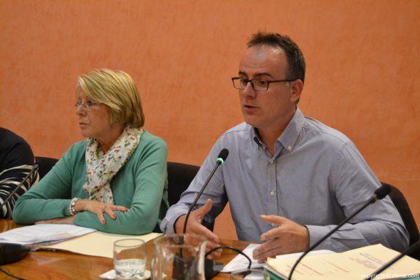 Concejales de Ciudadanos en el pleno de Dénia