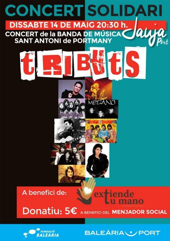Concierto de la banda de Música de Sant Antoni de Portmany