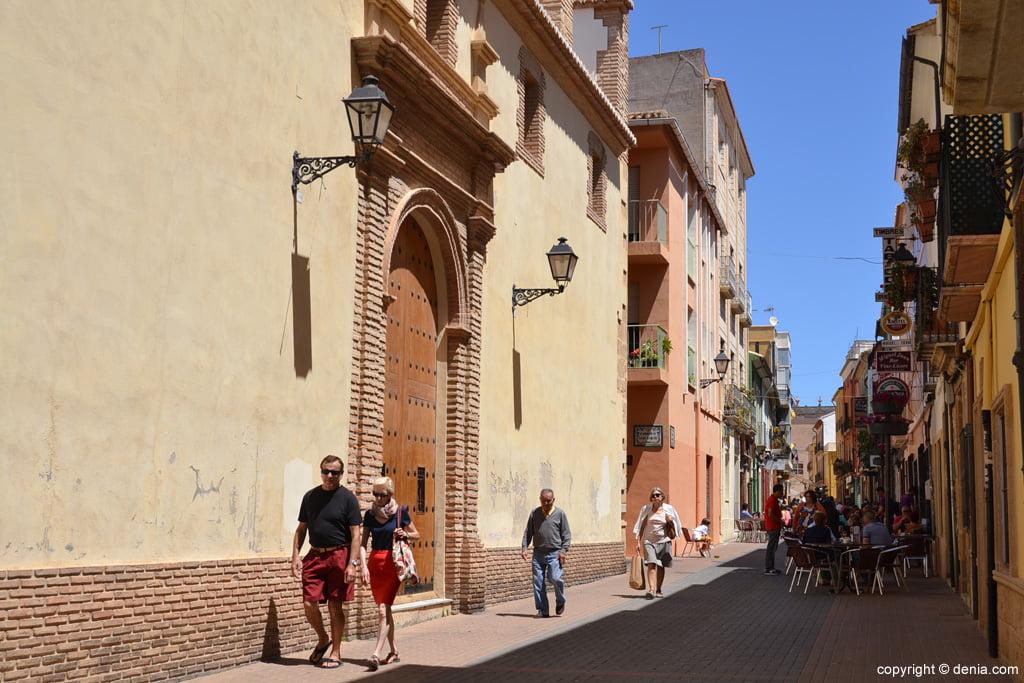 Convento de las Agustinas en la calle Loreto