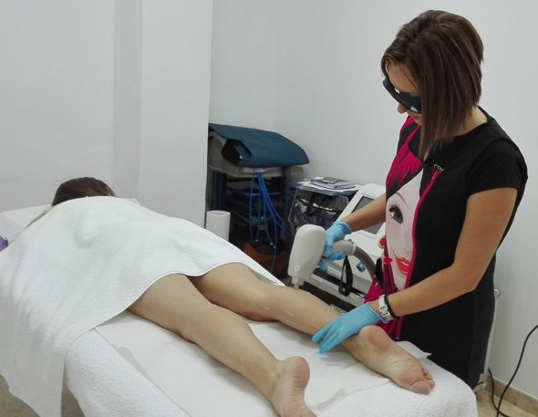 Laser hair removal Victoria Estetica Beauty