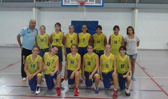 Equipo Dénia Básquet  Alevin Femenino