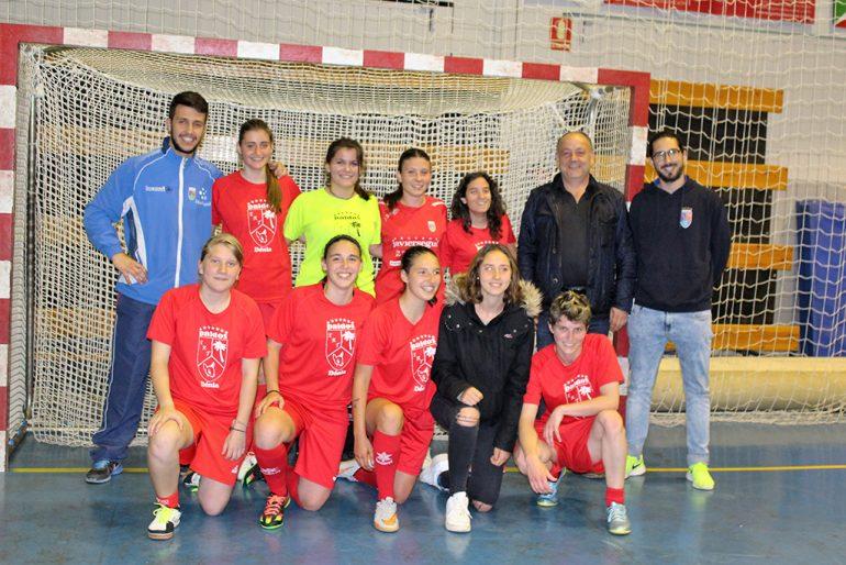 Equipo Femenino del CD Paidos Fútbol Sala