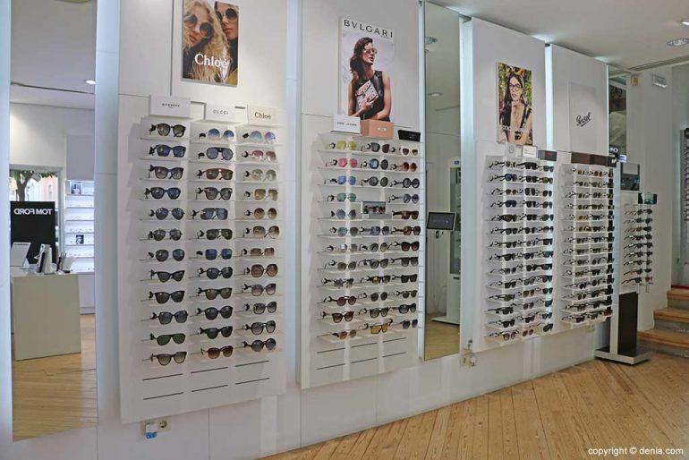 Sunglasses of the best brands Óptica Benjamín