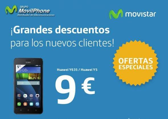 Grandes descuentos 9€ Movilphone