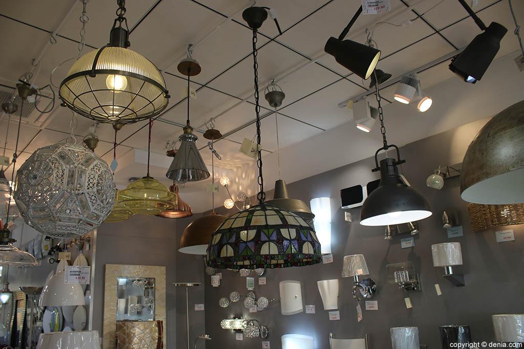 L mparas de techo luces de denia d - Venta de lamparas de techo ...