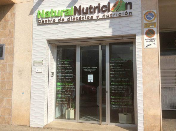 NaturalNutrición fachada