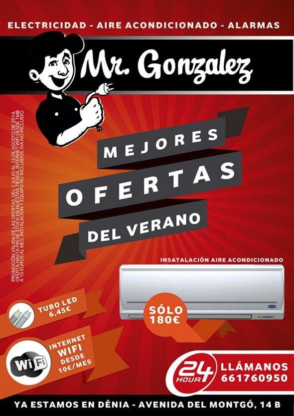 Aire condicionat Serveis i Manteniments Elèctrics González