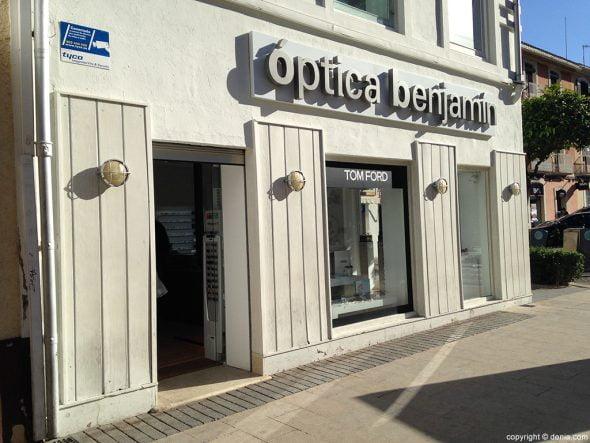 Optica Benjamin tienda
