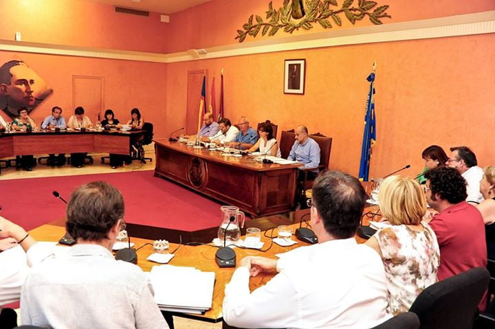 City Council plenary session in Dénia