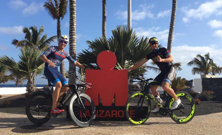 Sergio Alberola i David Ribes a Lanzarote