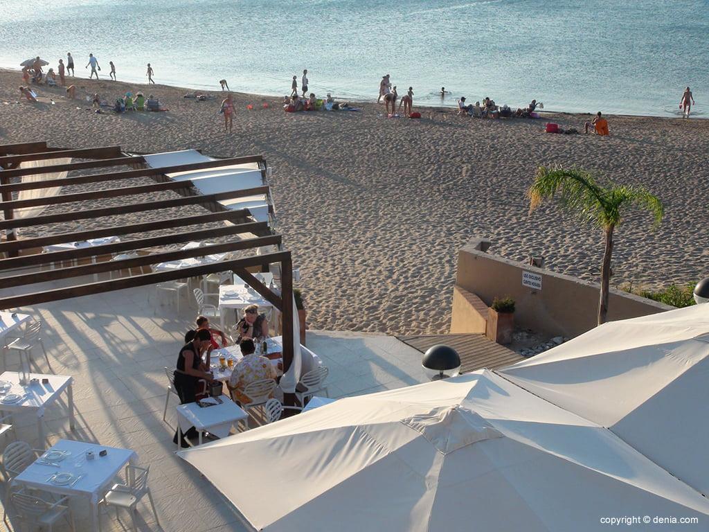 vistes terrassa hotel Mar Noguera