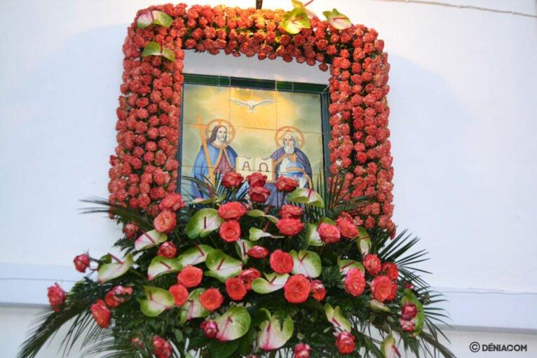 Fiestas Santíssima Trinitat Dénia - Imagen de la Santíssima Trinitat