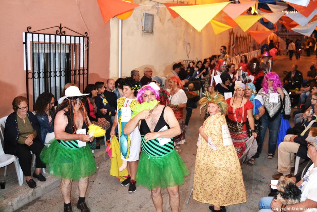 Fiestas Santíssima Trinitat Dénia – desfile de participantes