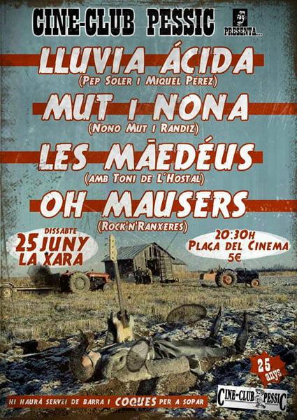 Fiesta 25 aniversario Cine Club Pessic La Xara
