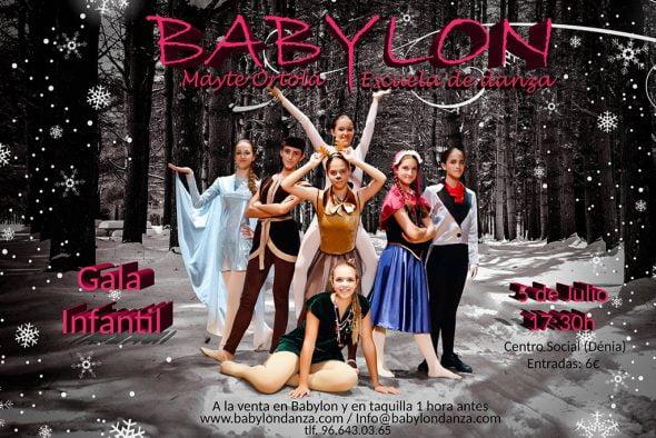 Gala Babylon Escuela de Danza