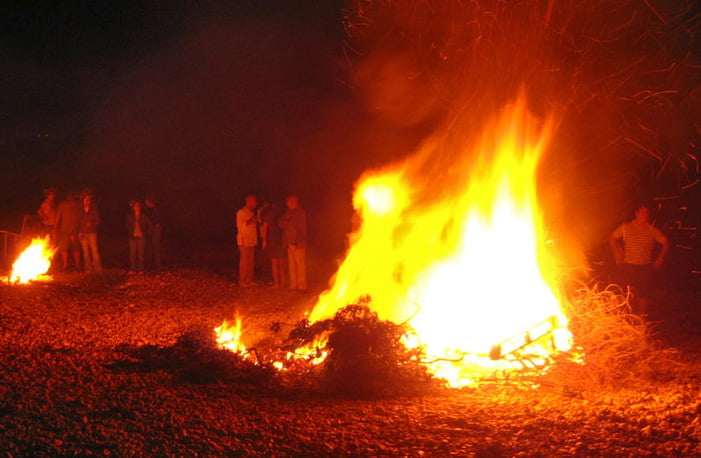 Bonfire of San Juan Dénia