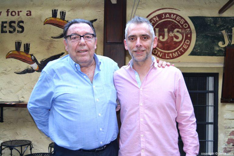 José Enrique Garrigós y Miguel Ángel Fullana