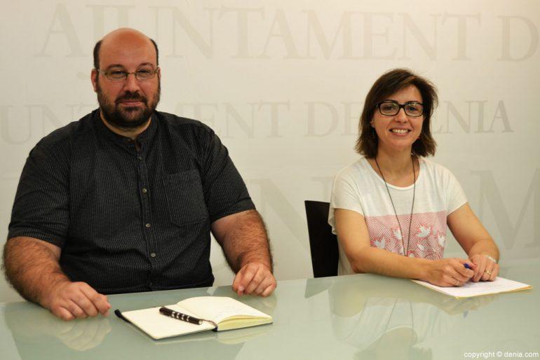Josep Crespo y Maria Josep Ripoll