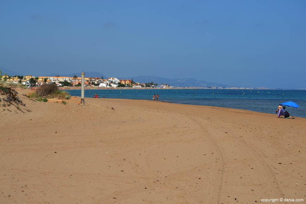 Playa Els Molins de Dénia