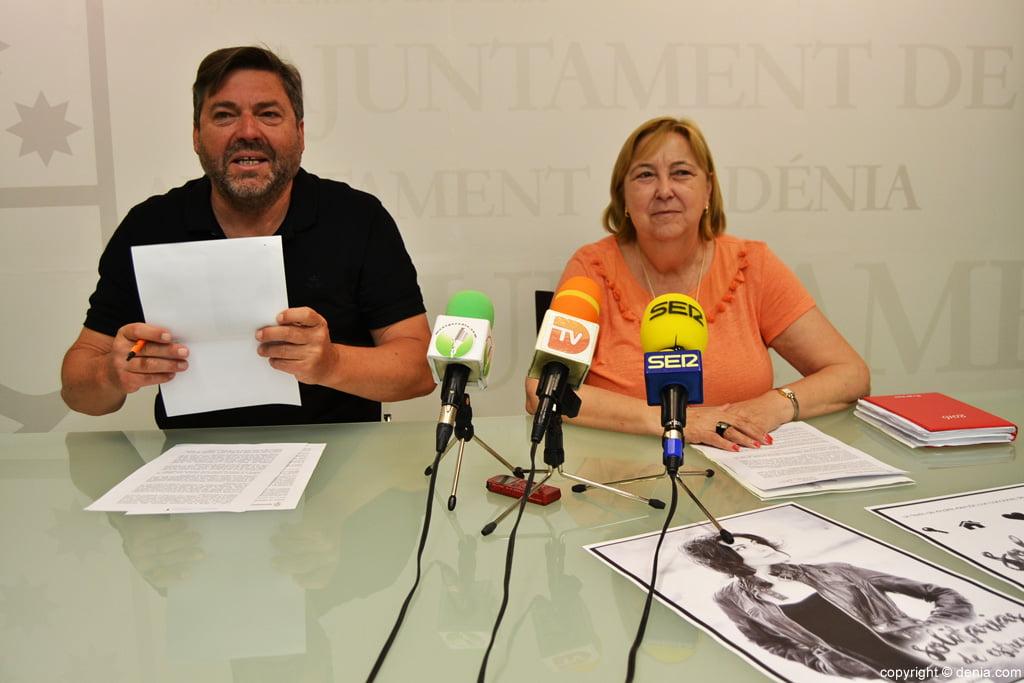 Rafa Carrió y Elisabet Cardona