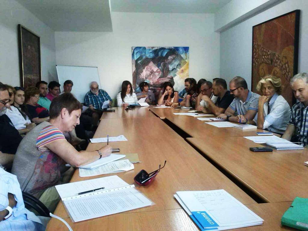 Meeting of the Municipal Employment Bureau