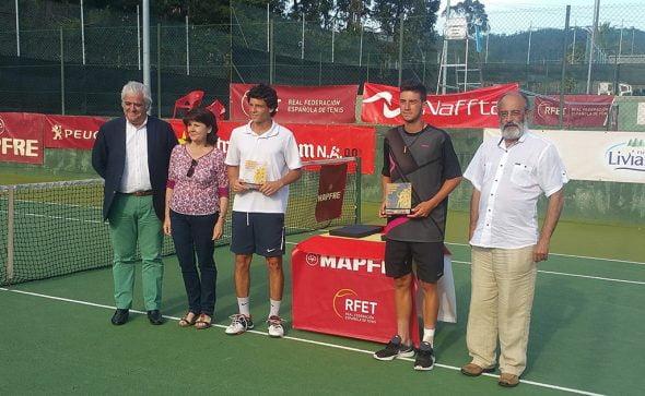 Sergi Pérez y Enrique Payá campeones de España uniors en dobles