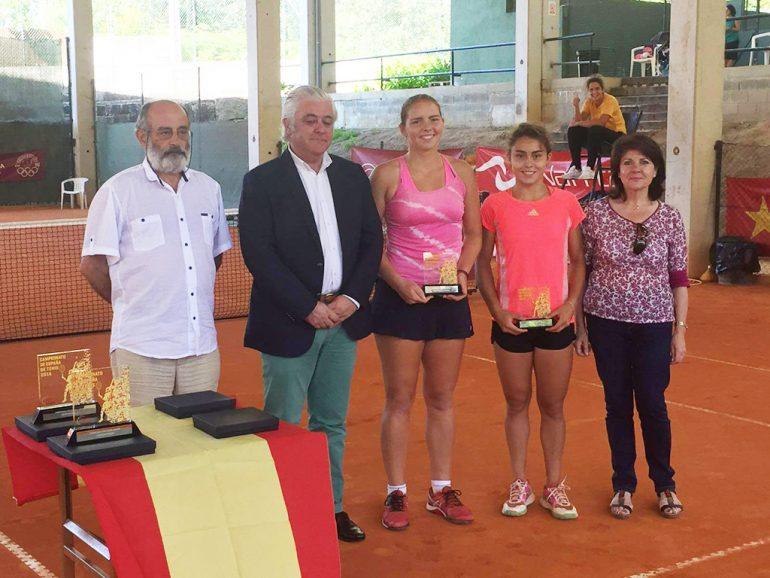 Silvia Bordes y Julia Payola subcampeonas de España juniors