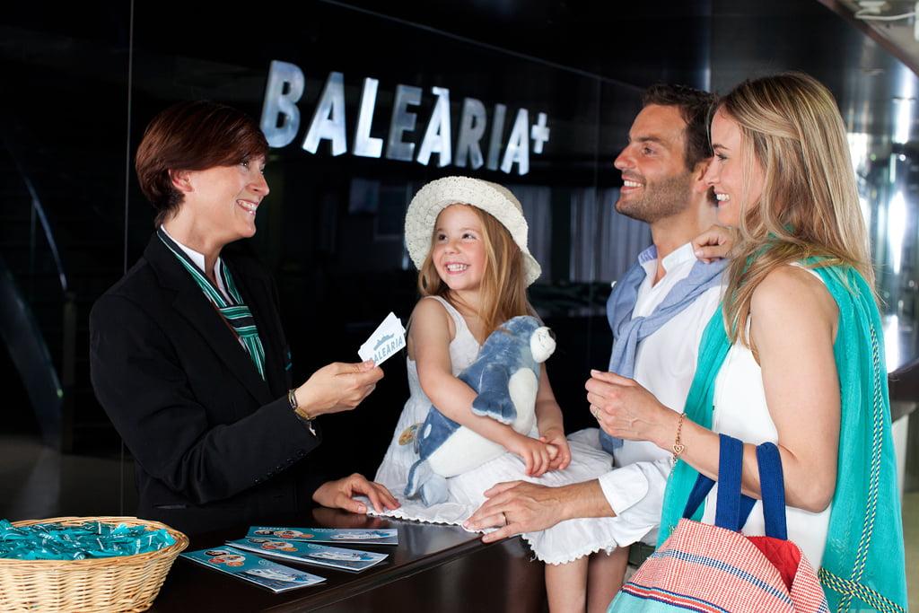 Viajar en familia con Baleària